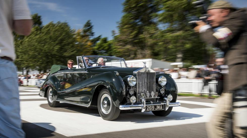 Rolls-Royce Goodwood revival 2015 silver dawn drophead
