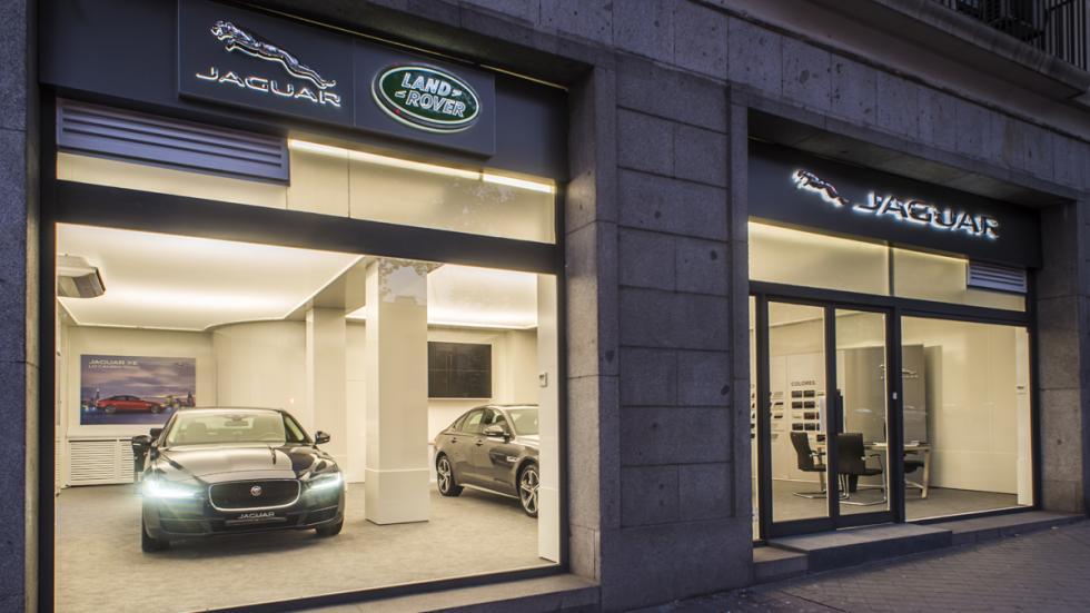 Jaguar Land Rover Store vista exterior