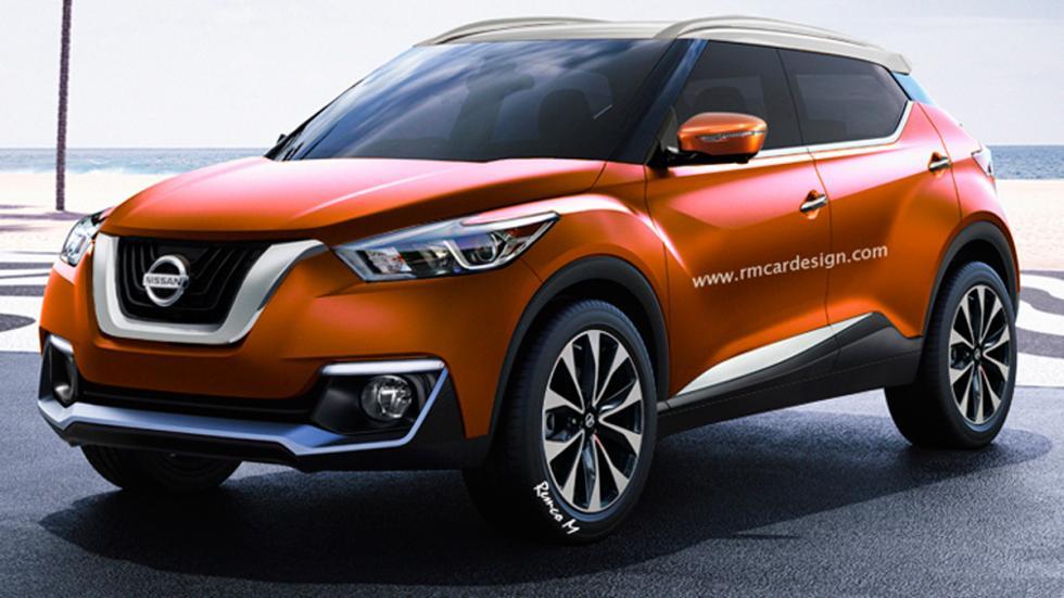 nuevo Nissan Juke render