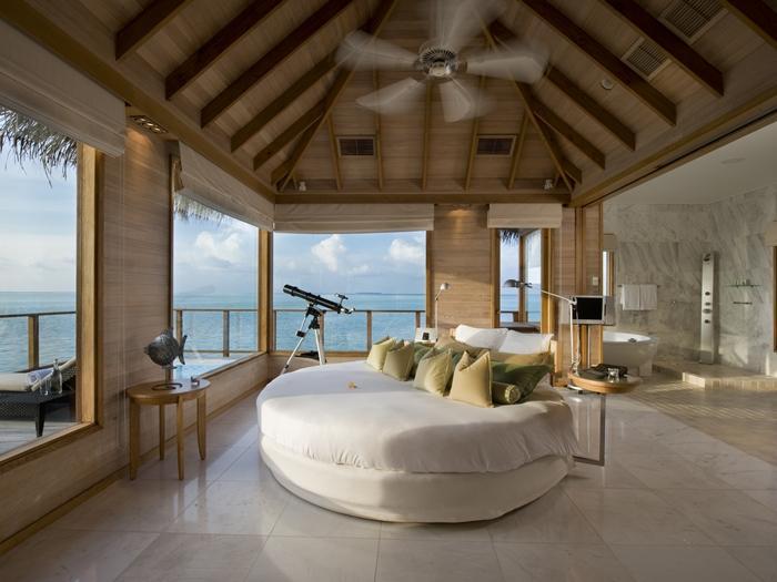 Conrad Hotel, en Maldivas