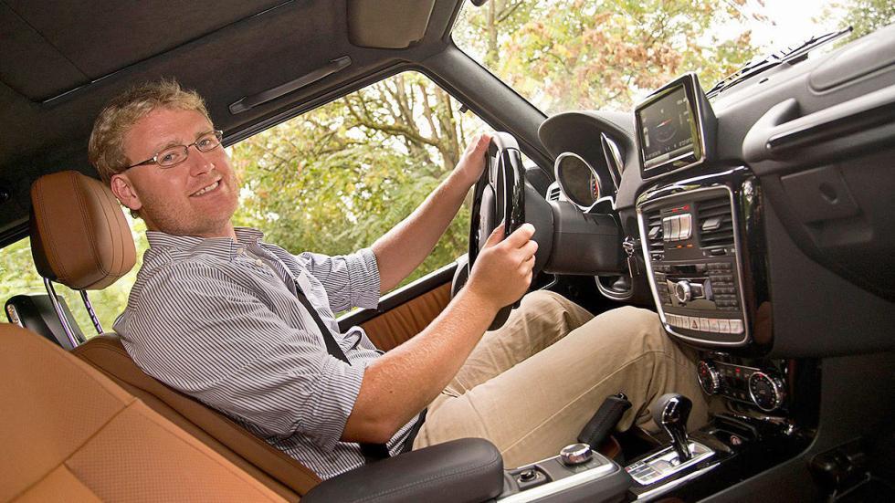 Prueba: Mercedes Clase G 2015 interior
