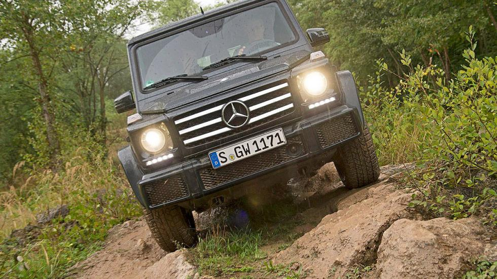 Prueba: Mercedes Clase G 2015 morro