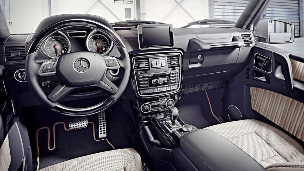 Prueba: Mercedes Clase G 2015 habitáculo
