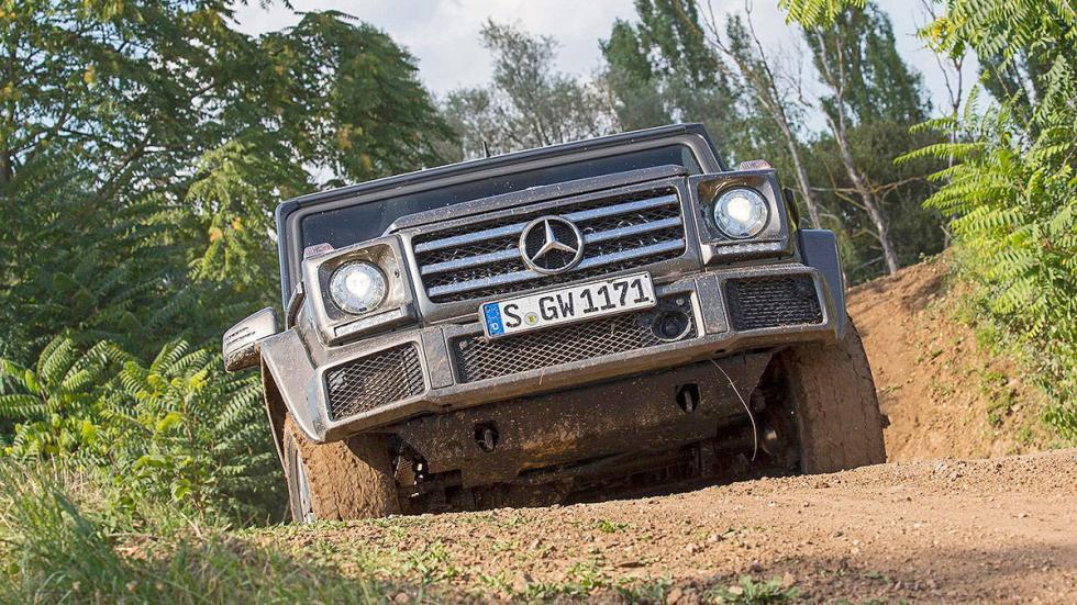Prueba: Mercedes Clase G 2015 pista pendiente