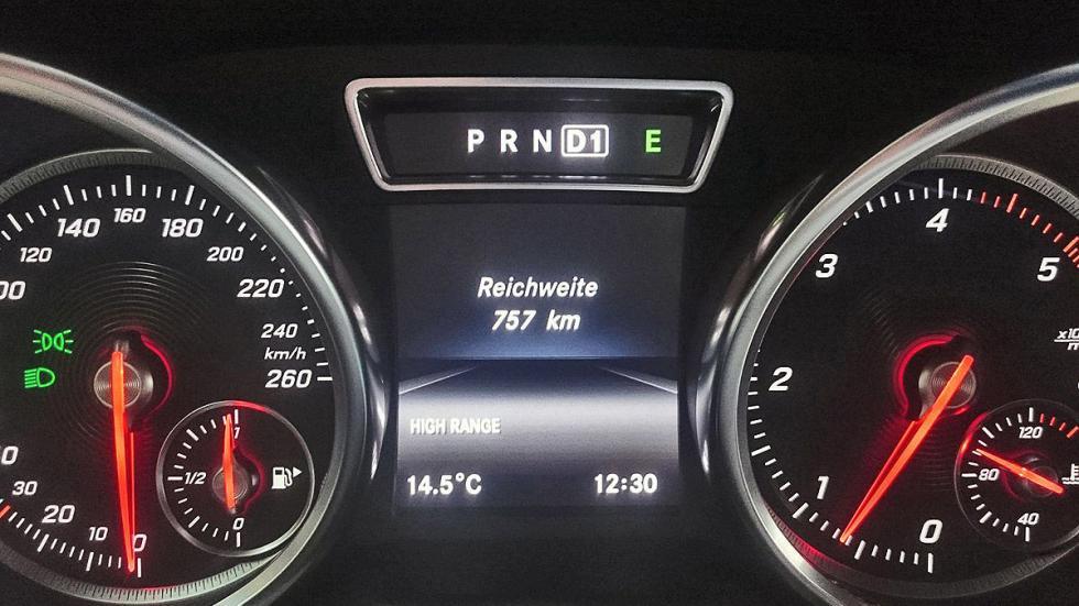 Prueba: Mercedes Clase G 2015 relojes