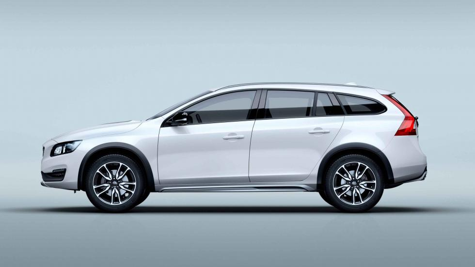 volvo V60 Cross Country 2016 perfil