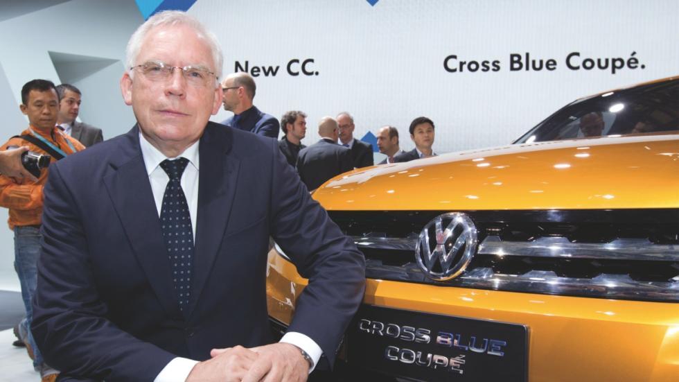 Ulrich Hackenberg, hasta ahora jefe de I+D de Audi