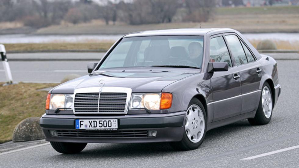 Prueba del Mercedes 500 E: más Porsche que Mercedes