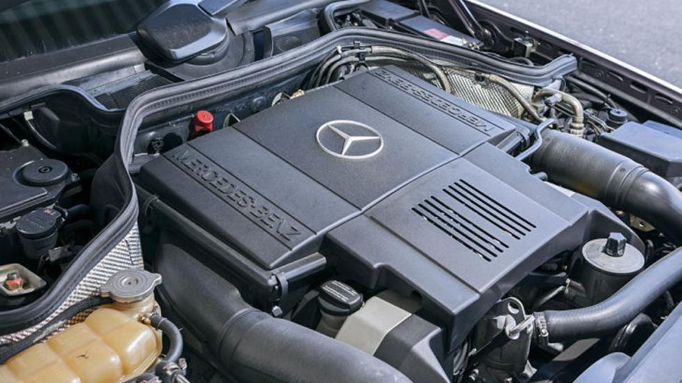 Prueba del Mercedes 500 E: más Porsche que Mercedes motor
