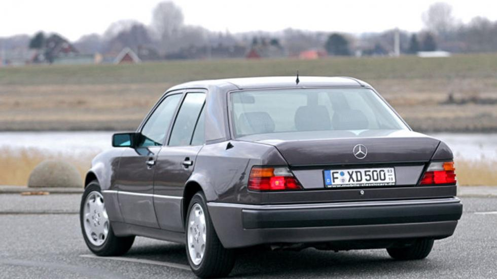 Prueba del Mercedes 500 E: más Porsche que Mercedes detalle zaga