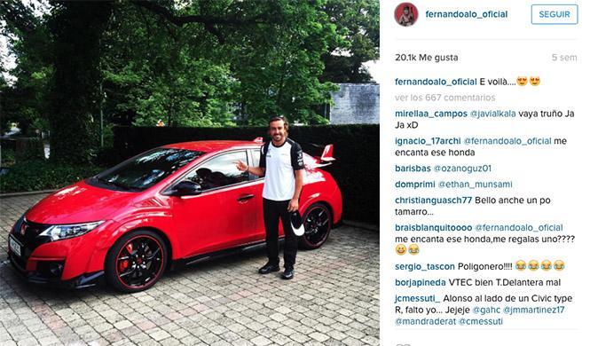 Fernando Alonso Honda Type R