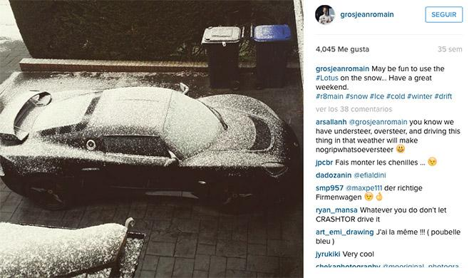 Grosjean Lotus