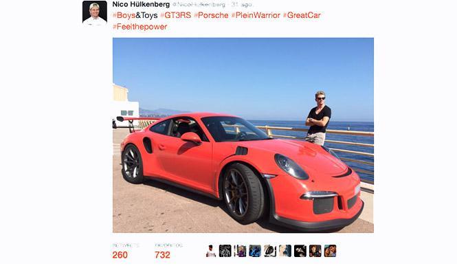 Hulkenberg Porsche GT3 RS