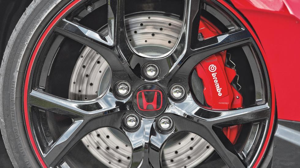 Honda Civic Type R rueda