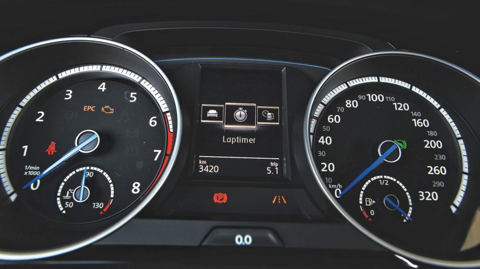 Volkswagen Golf R relojes