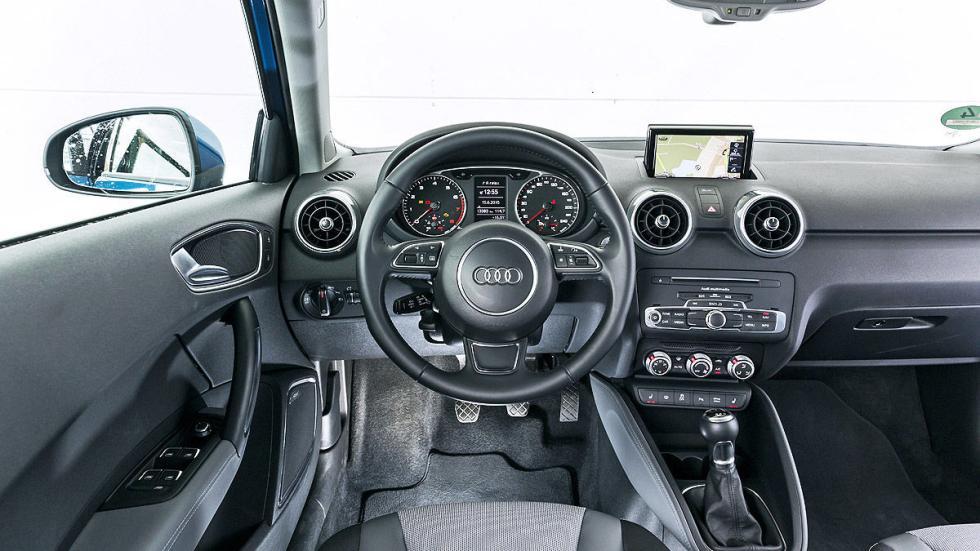 Audi A1 detalle interior
