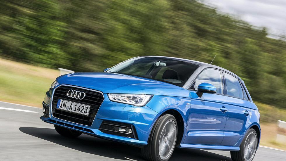 Audi A1 detalle barrido
