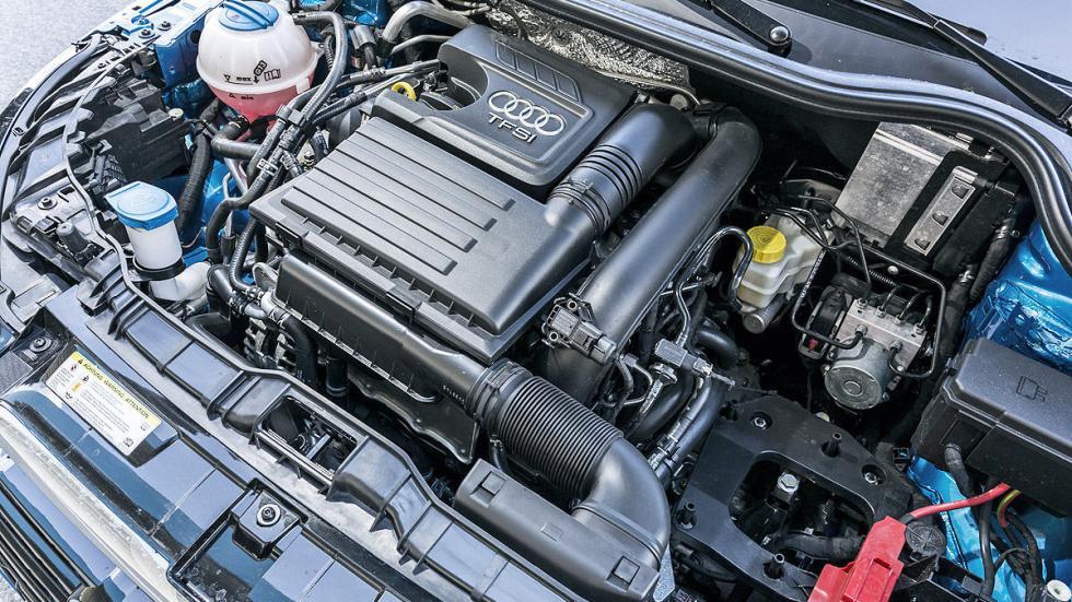 Audi A1 detalle motor