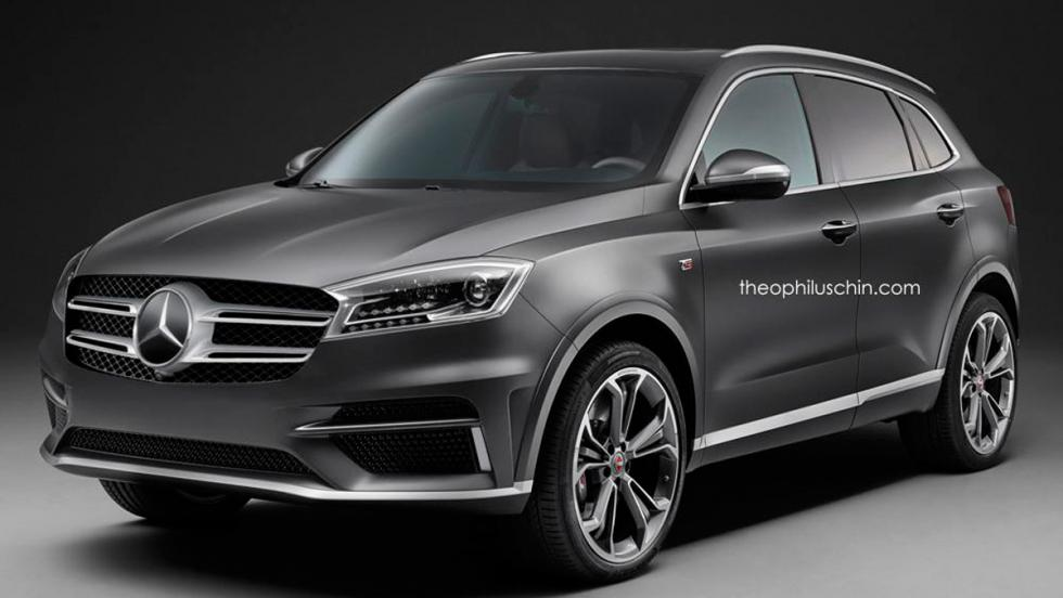 Borgward BX7 parrilla Mercedes