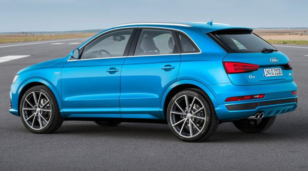 Audi Q3 trasera