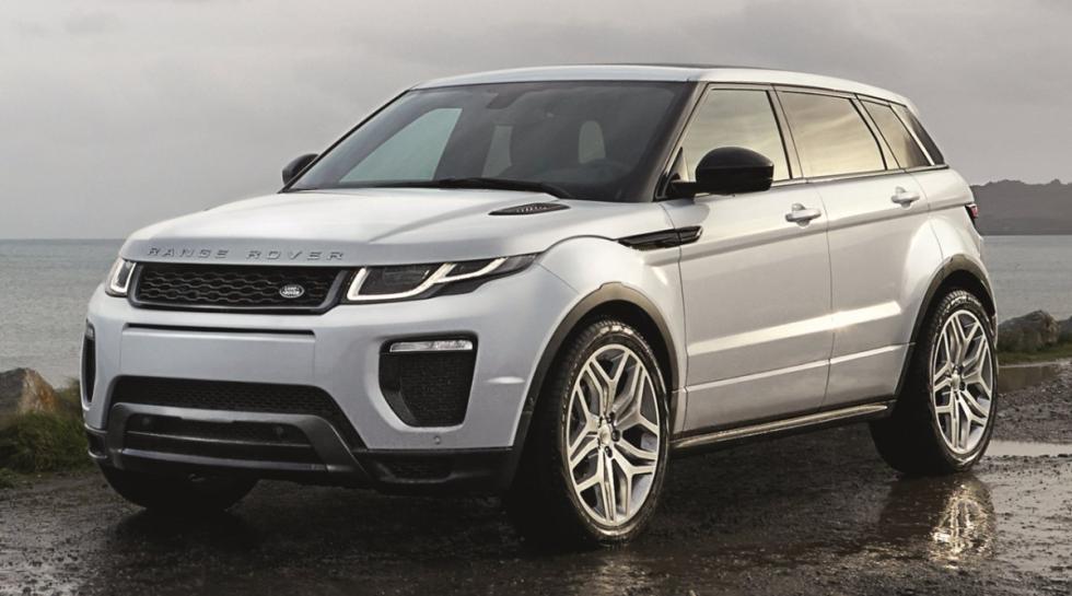 Range Rover Evoque delantera