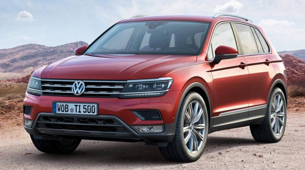 Volkswagen Tiguan delantera