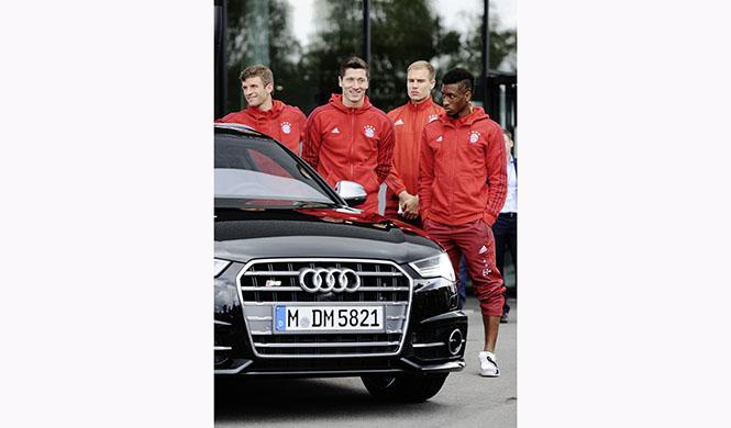Audi coche oficial Bayern Munich