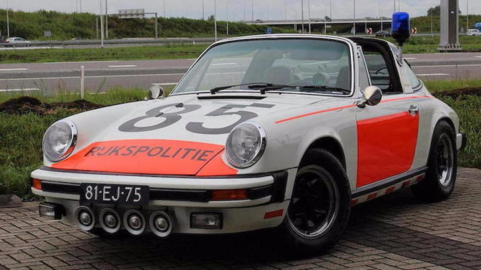 Porsche 911 Targa policía holandesa