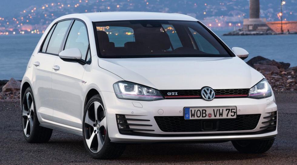Volkswagen Golf GTI delantera