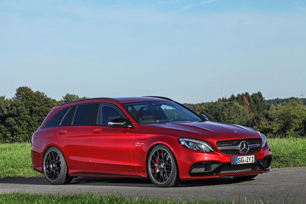 Mercedes-AMG C63 S Estate by Wimmer RST lateral