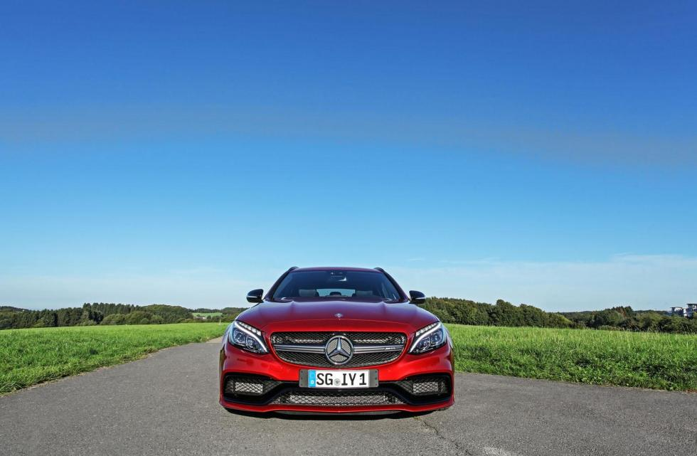 Mercedes-AMG C63 S Estate by Wimmer RST frontal