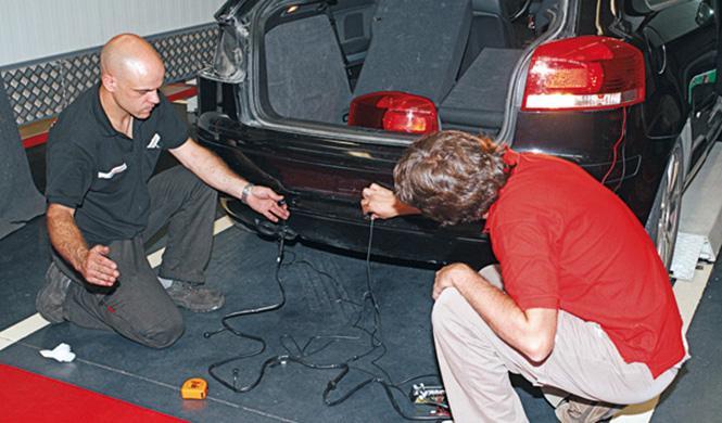 sensores aparcamiento y cámara trasera