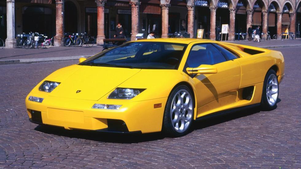 Coches terrorificos Halloween Lamborghini Diablo frontal