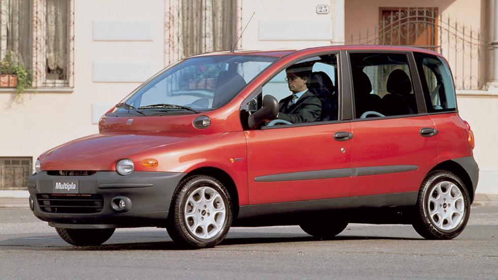 Coches terrorificos Halloween Fiat Multipla frontal