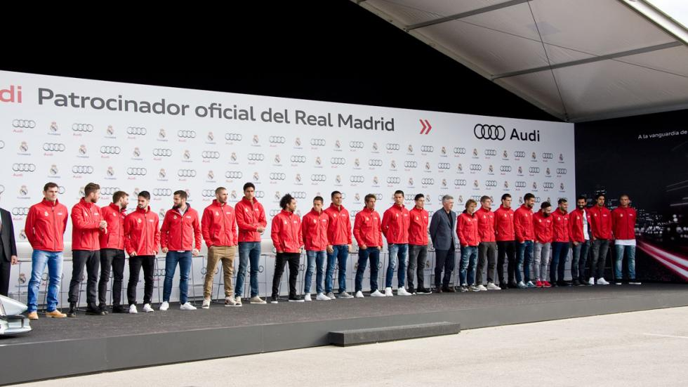 plantilla real madrid audi