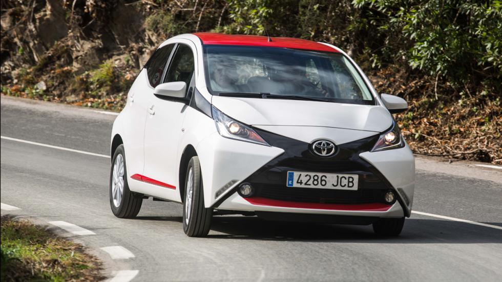 Toyota Aygo 2015 dinámica