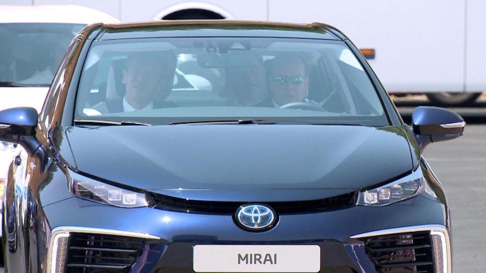 Toyota Mirai con las celebrities