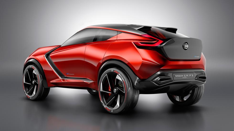 Nissan Gripz concept tres cuartos traseros