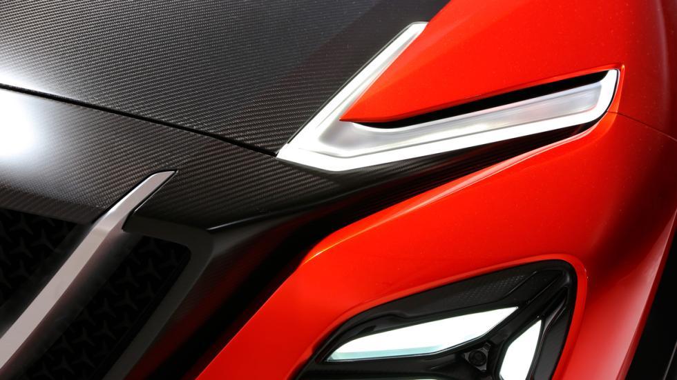 Nissan Gripz concept faro delantero