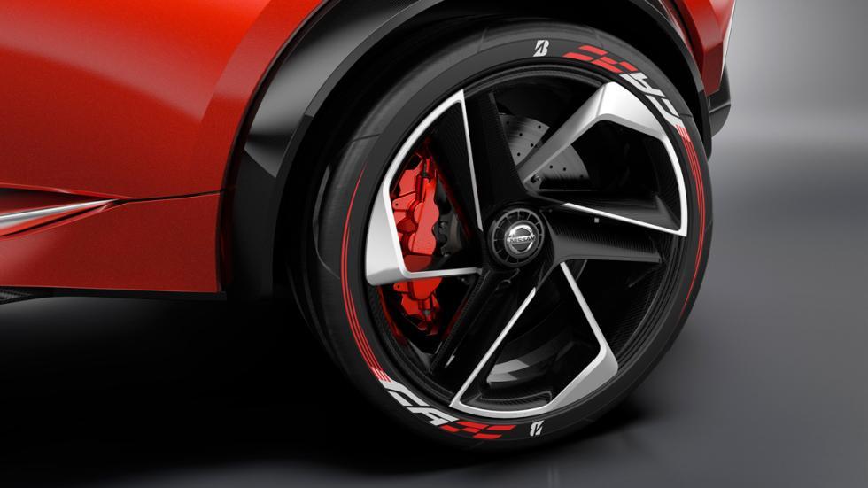Nissan Gripz concept rueda