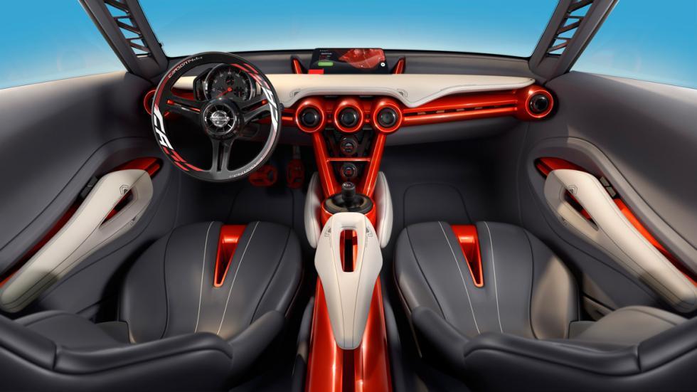 Nissan Gripz concept salpicadero