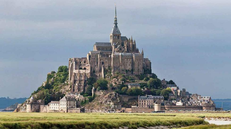 Mont Saint-Michel, en Normandía