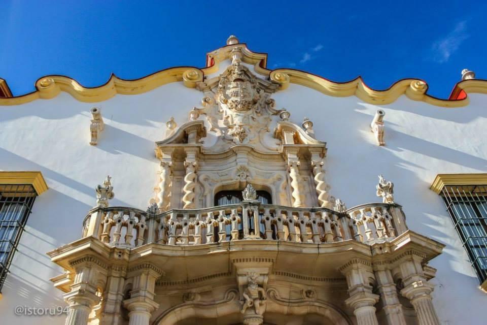Palacio Marqués de la Gomera, en Sevilla