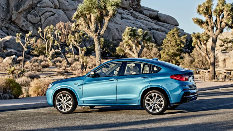 BMW X4 M40i lateral