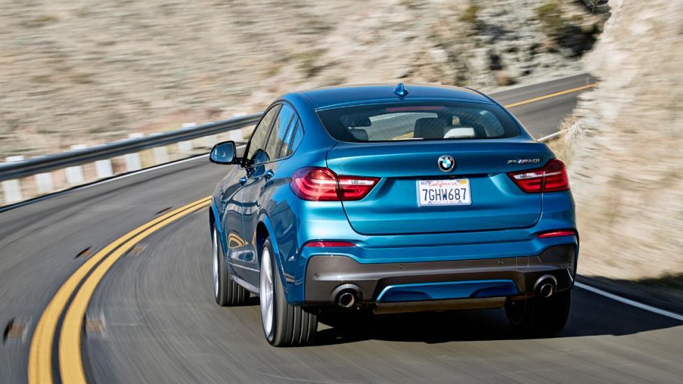BMW X4 M40i trasera