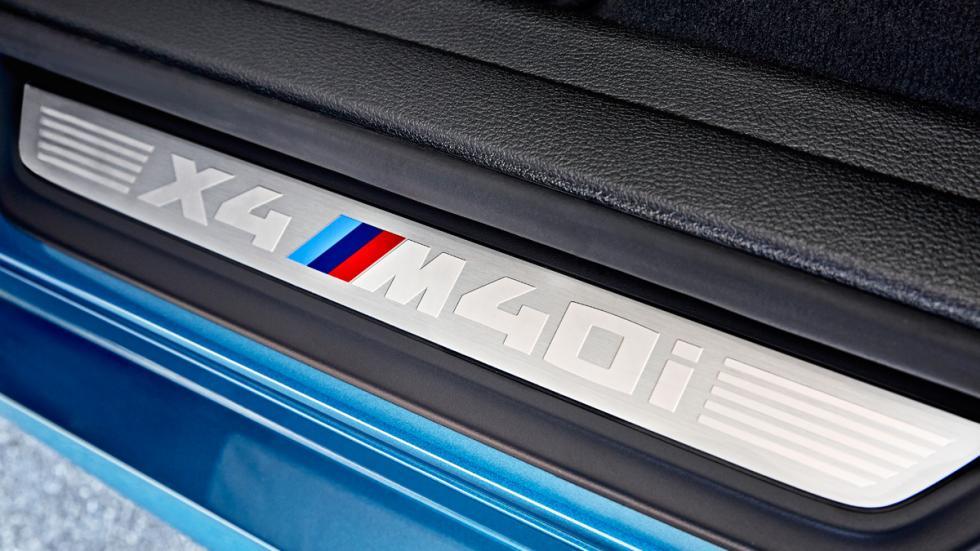 BMW X4 M40i pasos de rueda