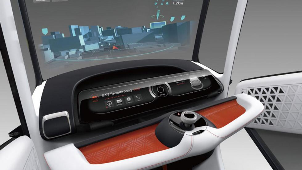 Honda Wander Stand pantalla