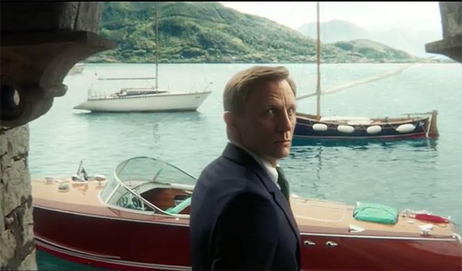 James Bond Riva Tritone Spectre 2