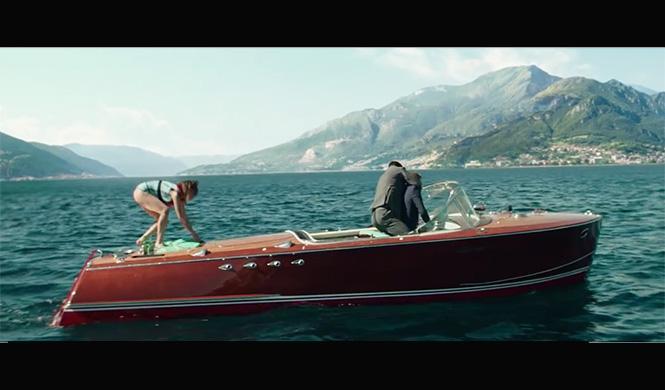 James Bond Spectre Riva Tritone
