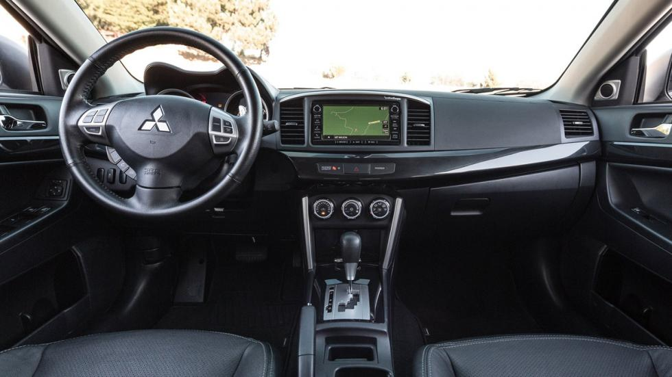 Mitsubishi Lancer 2016 interior